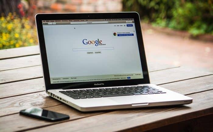 SEO nieuwe website aanmelden google