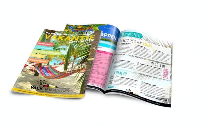 Brochure Design Reisbureau