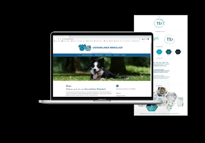 Branding en website - logo en huisstijl