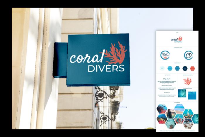 webdesign branding duikschool