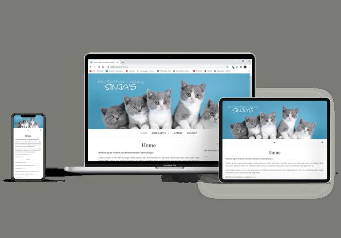 Webdesign Cattery