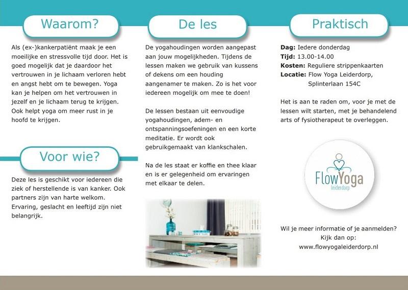 trifold flyer design yoga