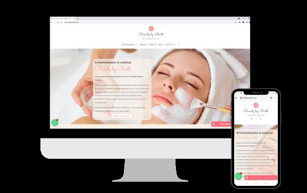 Reisblog teksten design webdesign