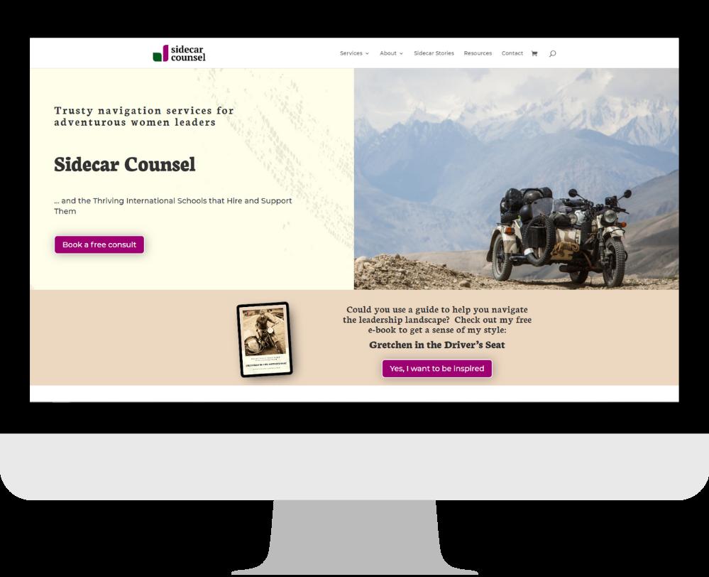 WordPress Divi website webdesign coach