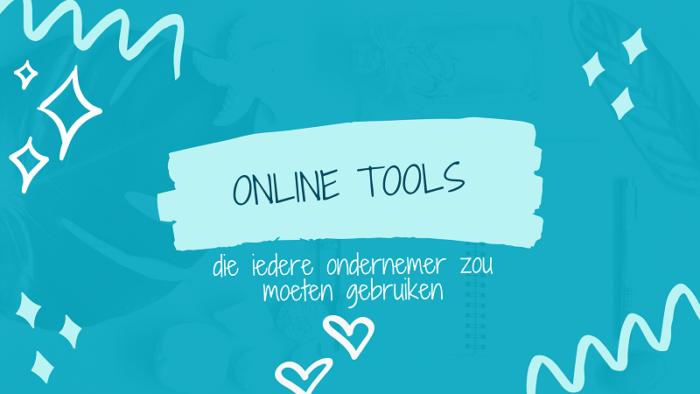 online tools ondernemers